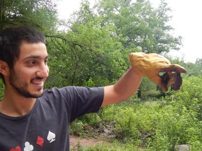 Santiago with a bat Photo Santiago Gamboa Alurralde