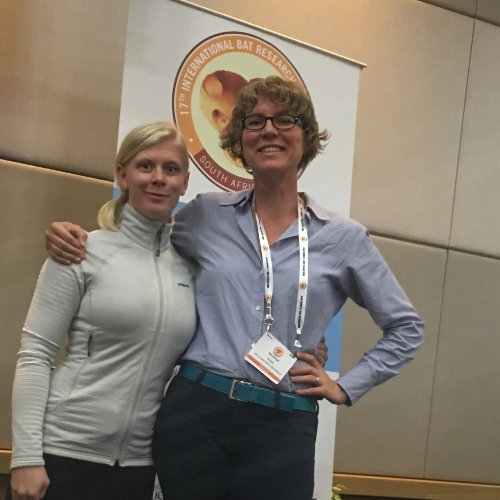 Winifred Frick at IBRC